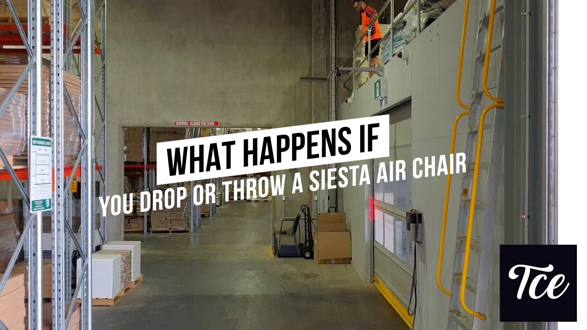 Air Chair Drop Test