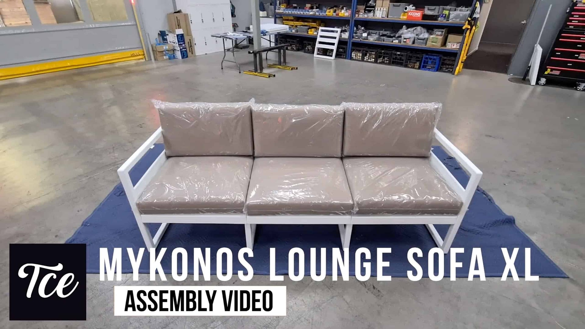 Assembly for the Mykonos Lounge Sofa XL