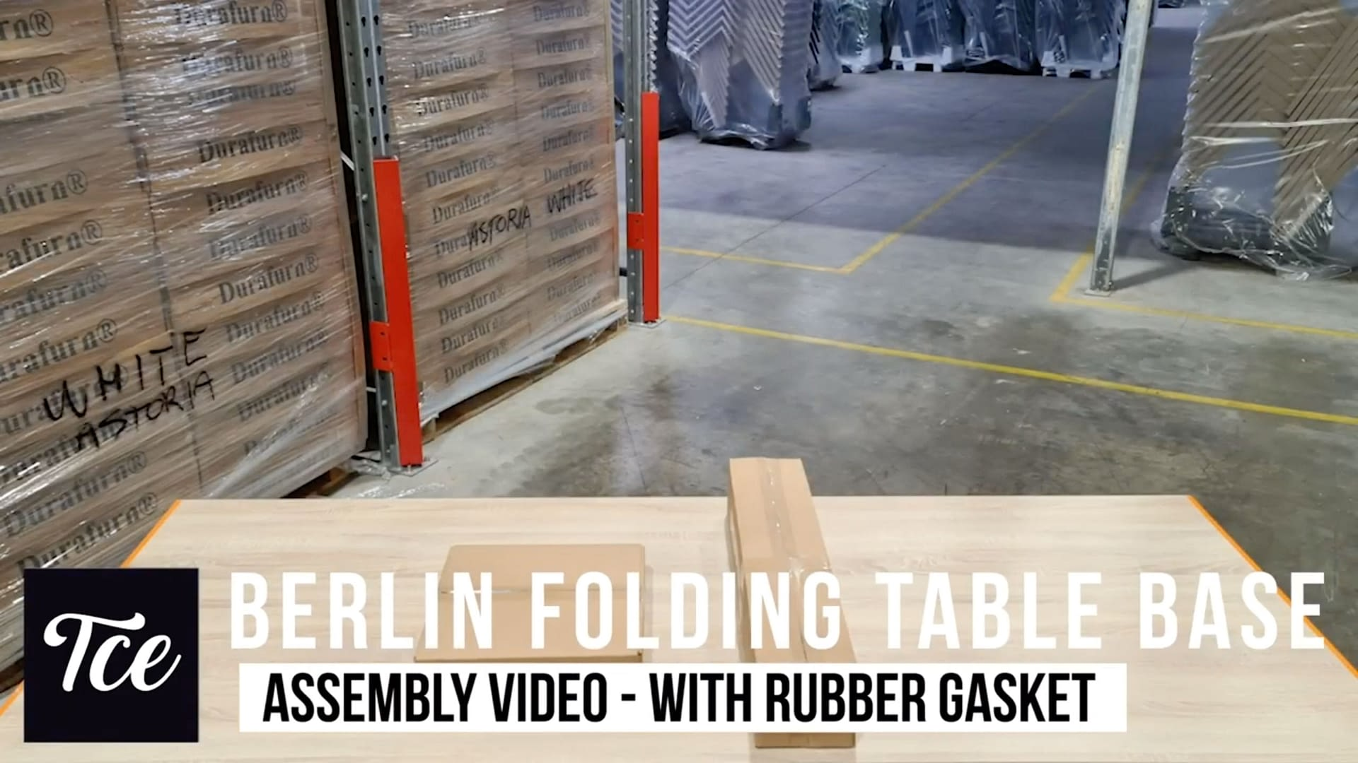 Assembly of the Berlin Folding Table Base (with Gasket)
