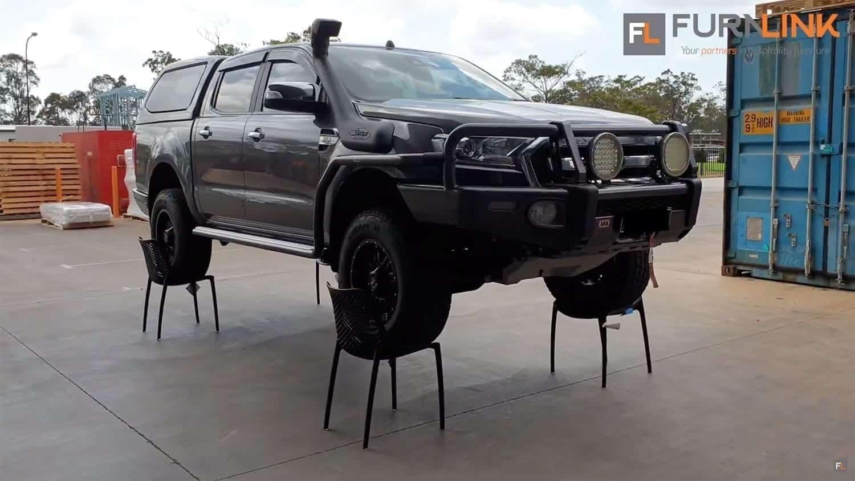 Siesta Air Chair Strength Test