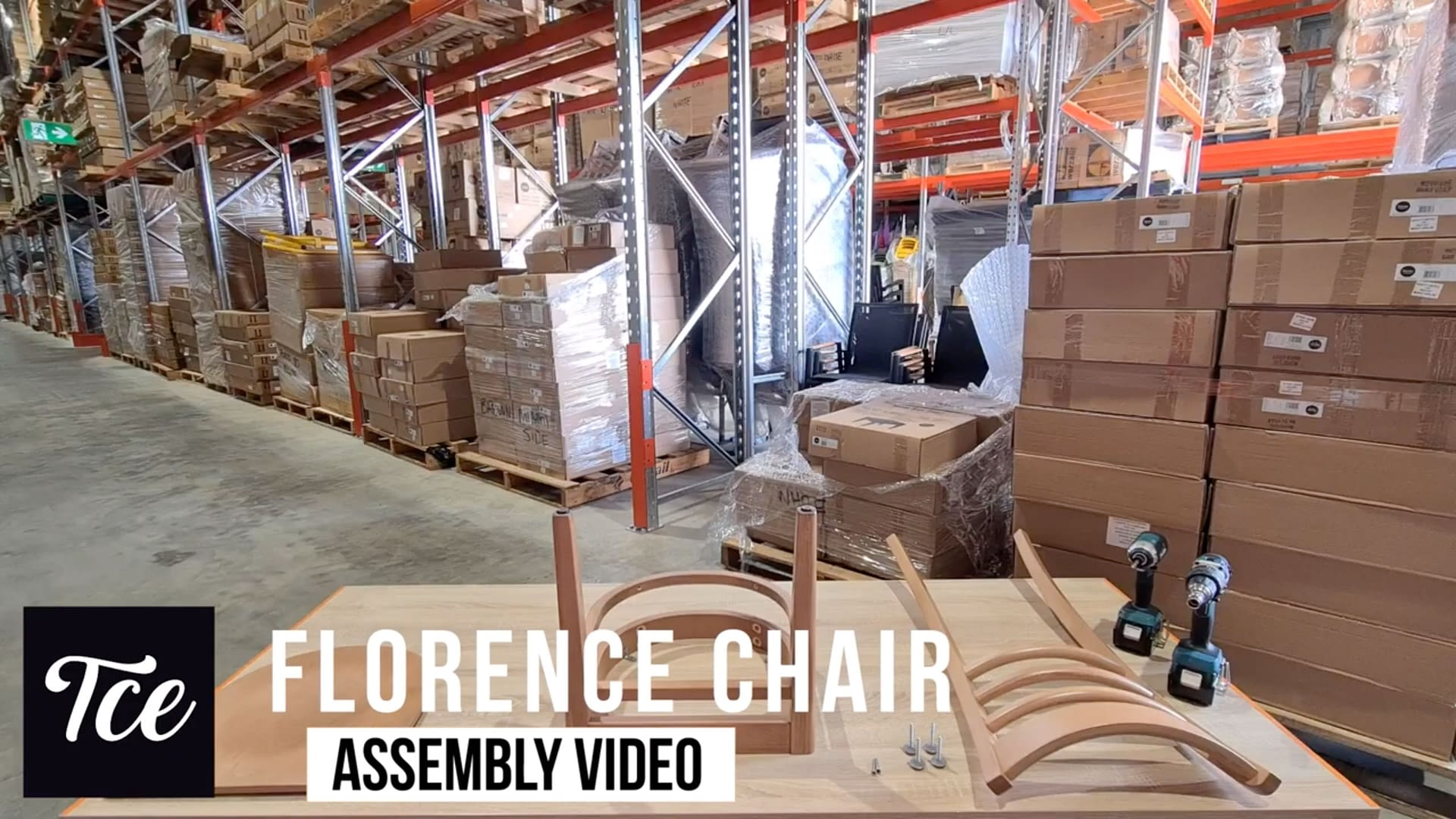 Assembly of the Florence Chair